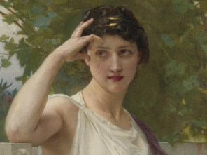"""Guillaume Seignac (French, 1870-1924), """"Happy Thoughts"""" (detail)"""