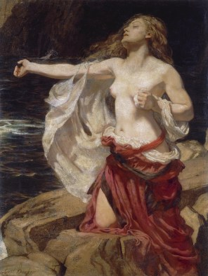 "Herbert James Draper (English, 1863-1920), ""Ariadne"""