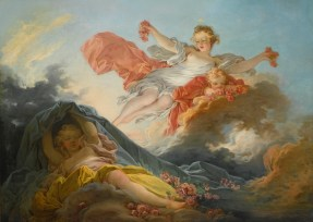 "Jean-Honoré Fragonard (French, 1732-1806), ""The Goddess Aurora Triumphing over Night"""