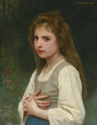 """William-Adolphe Bouguereau (French, 1825-1905), """"Jeanne"""" (1888)"""