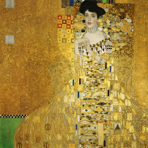 """Gustav Klimt (Austrian, 1862-1918), """"Portrait of Adele Bloch-Bauer I"""""""