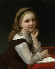 """William-Adolphe Bouguereau, """"Distraction"""" (1868)"""