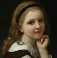 "William-Adolphe Bouguereau, ""Distraction"" (detail, 1868)"