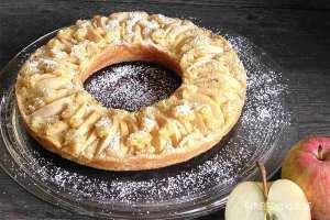 Apfelkuchenrezept für den Omnia-Backofen