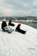 winter-schnee-schlitten fahren