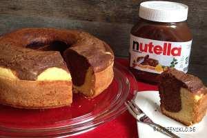 Leckerer Nutella-Kokos-Kuchen aus dem Omnia-Campingbackofen