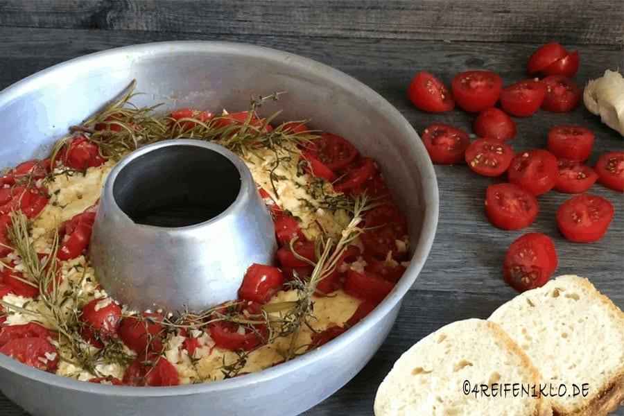 berbackener schafsk se mit tomaten aus dem omnia backofen. Black Bedroom Furniture Sets. Home Design Ideas