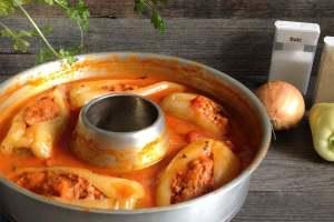 Omnia-Rezept über gefüllte Paprikaschoten