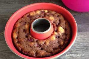 Kuchen in Silikonform