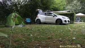 Abenteuer mit 4 Reifen & 1 Zelt