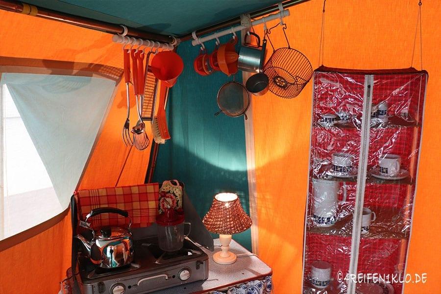 Kochen beim Camping 1962