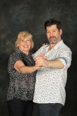My lovely partner Jon and I