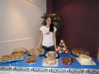 2012 - Jess held a coffee raising £828.08