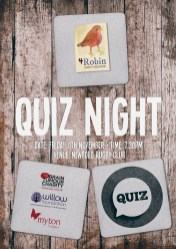 Kazz Fox hosted a Quiz Night