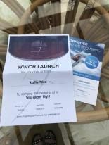 Winch Launch - The Gliding Centre