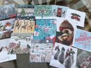 Brain Tumour Christmas Cards on sale