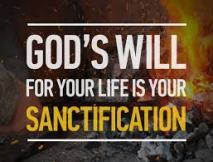 Image result for your sanctification