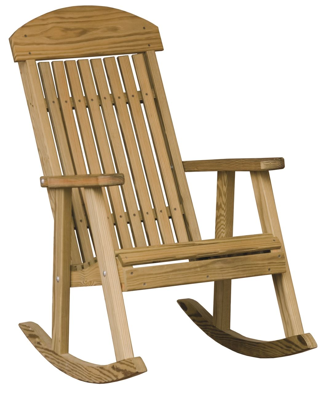 Outdoor Wooden Rocking Chairs Luxcraft Wood Porch Rocker Four Seasons Furnishings
