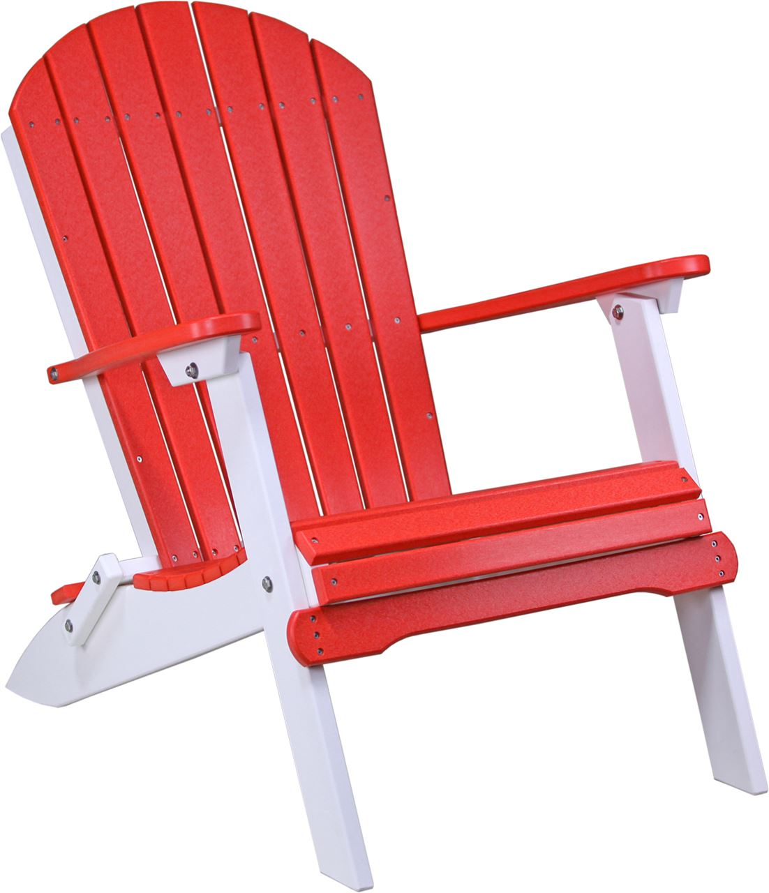 Foldable Adirondack Chair Four Seasons Furnishings Amish Made Furniture Luxcraft