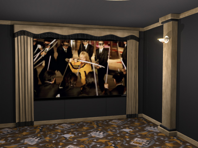 Standard Home Theater Curtains