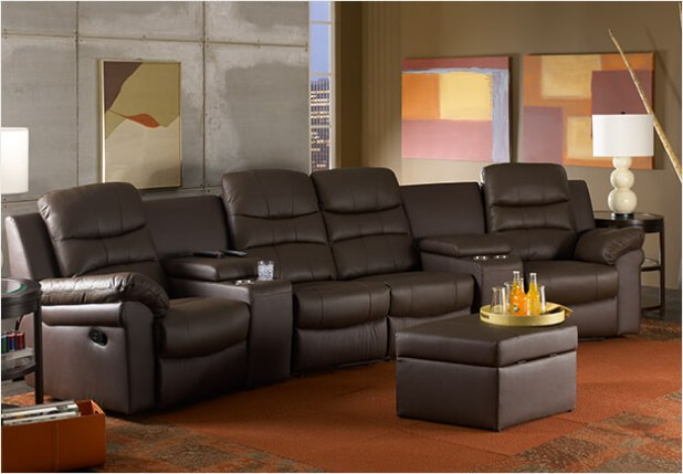 Theater Sofa Seating Centerfieldbarcom - Home theater sofa