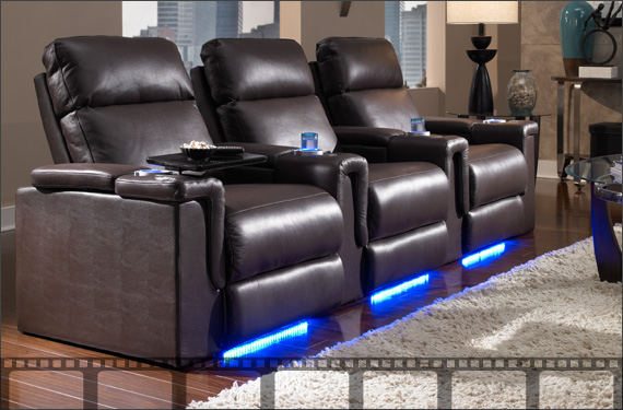 Home Theater Seating Furniture Seats : theater seating recliners - islam-shia.org