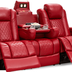 Home Theater Reclining Sectional Sofa Two Seater Faux Leather Bed Multimedia Sofas And Sectionals 4seating Seatcraft Anthem