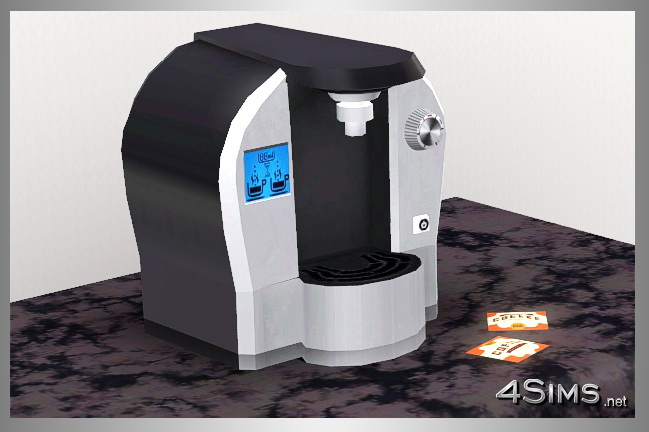 beautiful kitchen rugs schrock cabinets modern coffee machine for sims 3 - 4sims