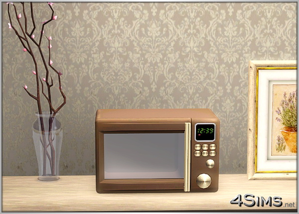 Stylish Microwaves Oven For Sims 3 4Sims