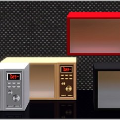 Kitchen Stove Gas Window Exhaust Fan A New Premium Microwave Oven For Sims 3 High Class ...