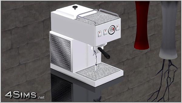 luxury kitchen appliances bar for espresso machine sims 3 - 4sims