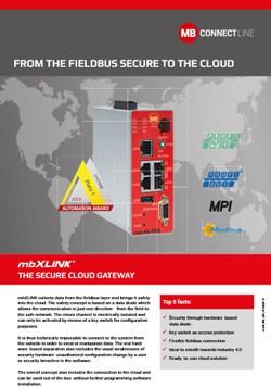 Brochure mbXLINK IoT edge gateway