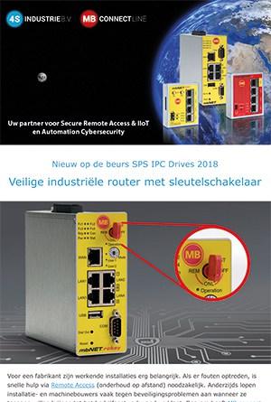 Nieuwsbrief-2018 11 - Veilig blijven automatiseren voor machinebouwer