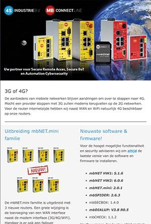 Nieuwsbrief 2019 11 - Nieuwe mbNET.mini VPN routers
