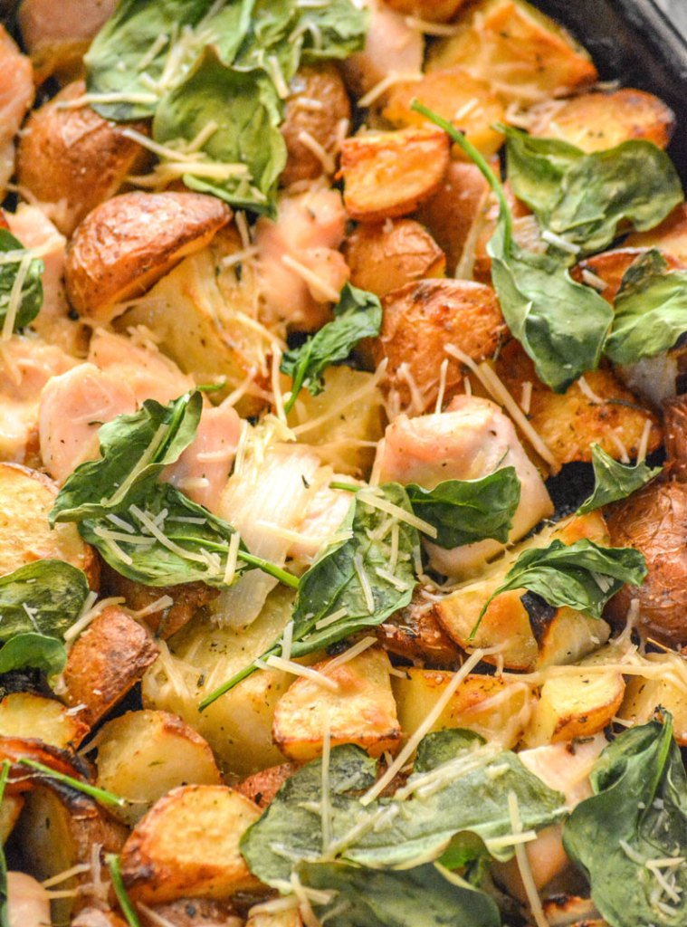 Roasted Chicken and Vegetable Sheet Pan Supper