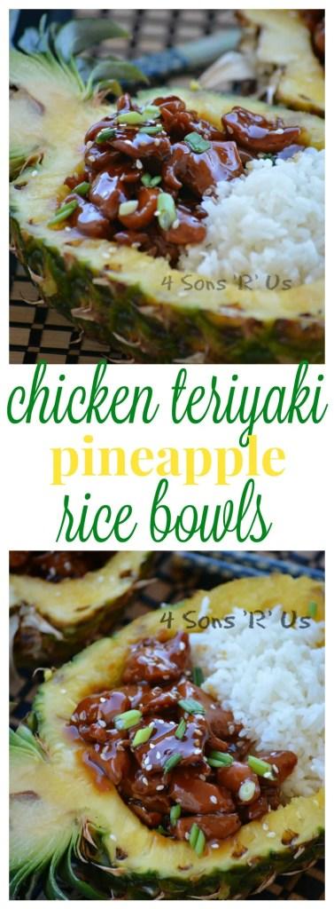 Chicken Teriyaki Pineapple Rice Bowls