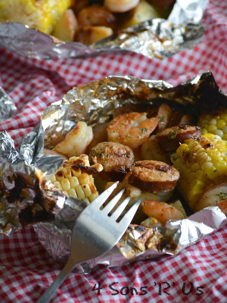 Low Country Boil Foil Packets 4
