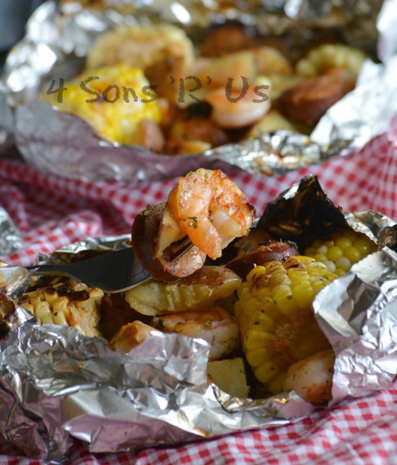 Low Country Boil Foil Packets
