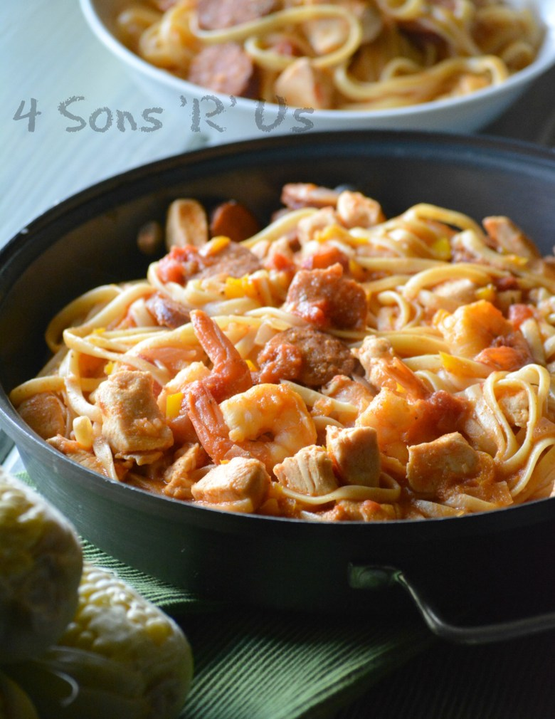 One Pot Jambalaya Pasta 2