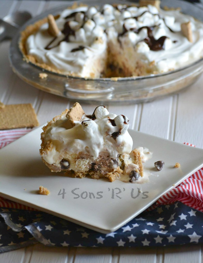 S'mores Ice Cream Pie 3