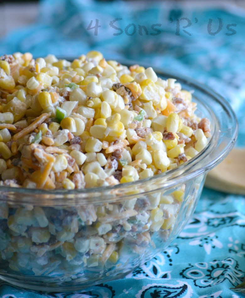 Jalapeno Popper Grilled Corn Salad 3