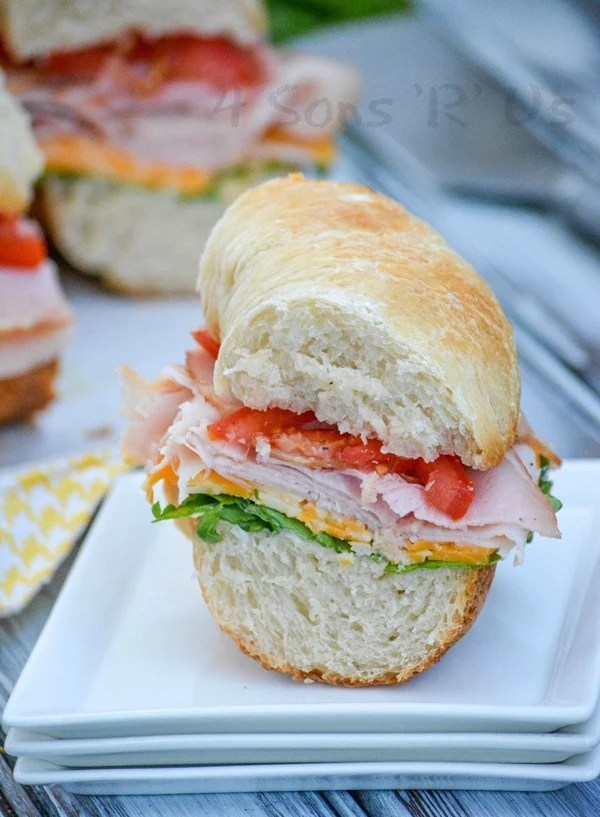 Cold Cut Bundt Pan Sub Sandwich