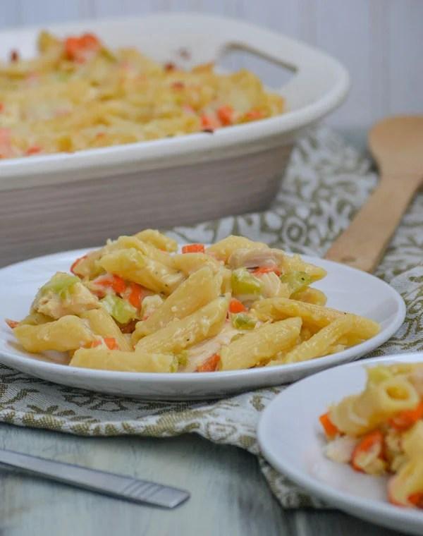Chicken Noodle Soup Casserole