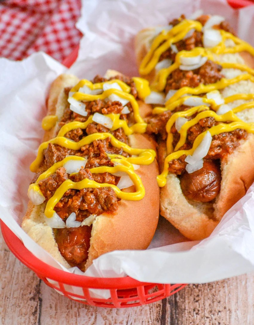 Slow Cooker Coney Island Style Hot Dog Chili 4 Sons R Us
