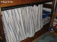 The 5 Minute, No Sew, Bottom Bunk-Bed Fort - 4 Sons 'R' Us