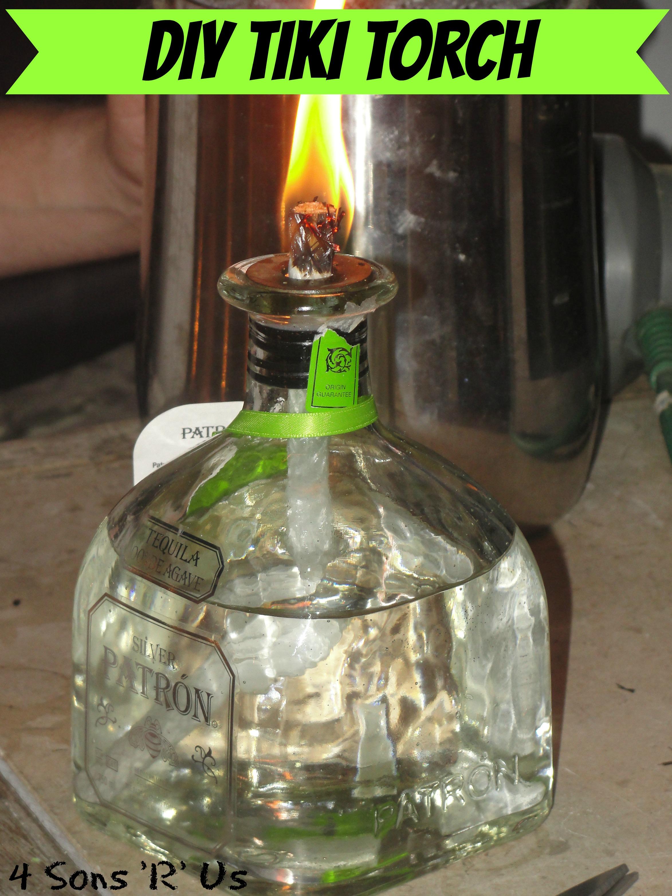 Diy Tiki Torch 4 Sons R Us