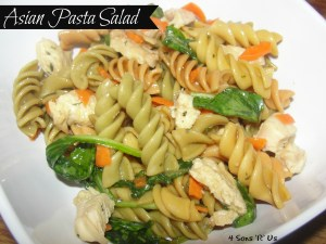 4 Sons 'R' Us: Asian Pasta Salad