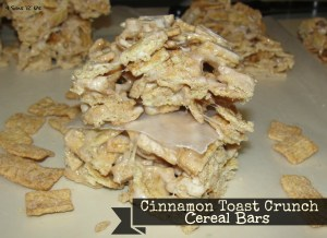 4 Sons 'R' Us: Cinnamon Toast Crunch Cereal Bars