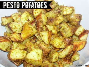 4 Sons 'R' Us:  Pesto Potatoes