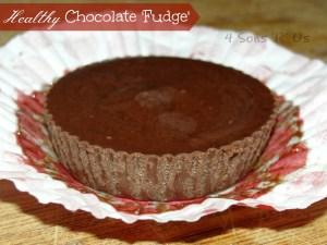 4 Sons 'R' Us: Healthy Chocolate Fudge